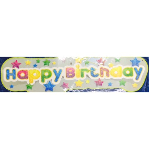 Birthday Party Banner (Words)