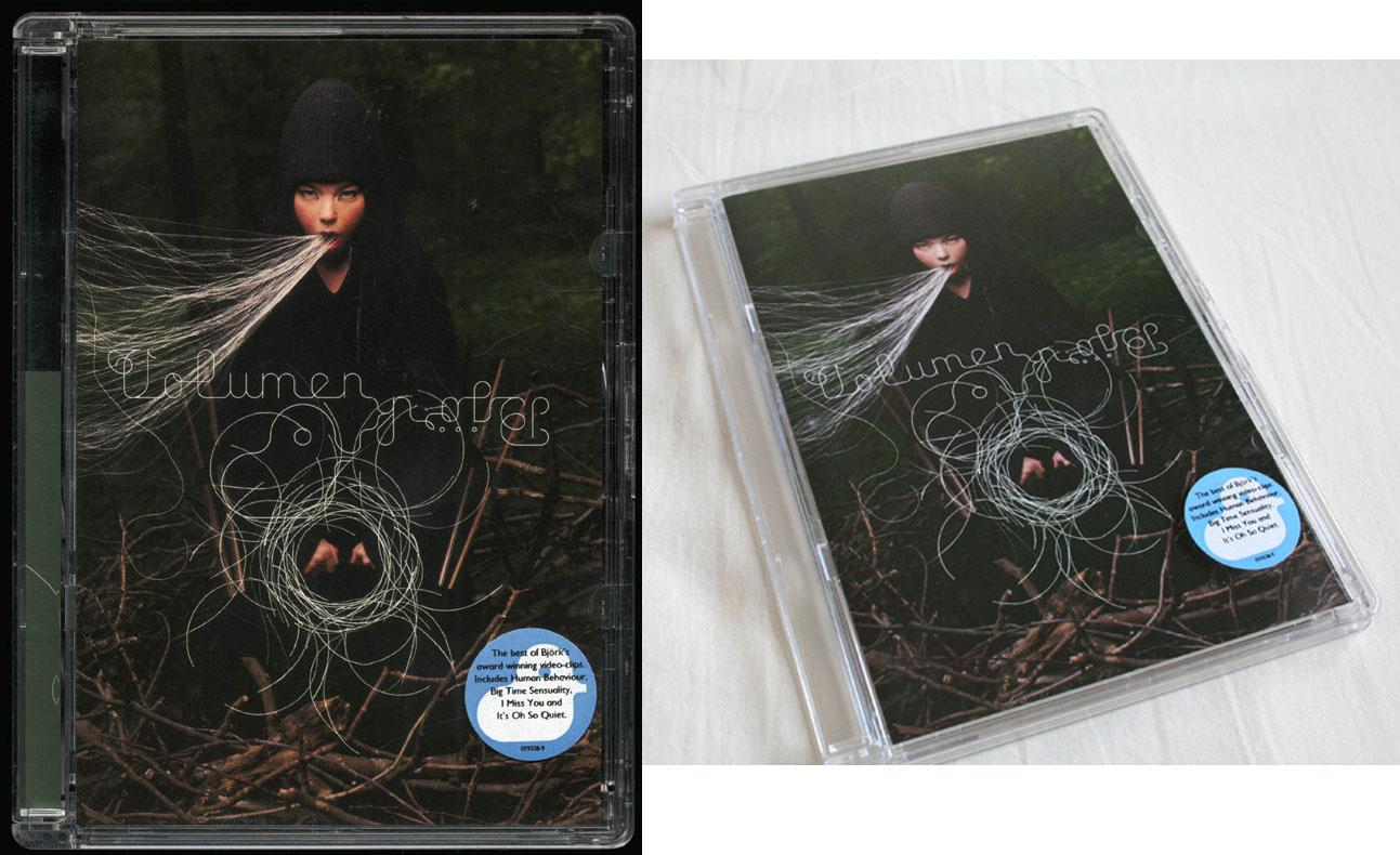 Bjork 'Volumen' DVD. Very good condition. Like New.