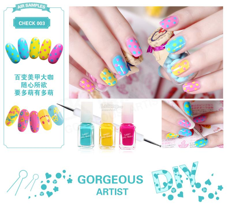 BK DIY Nail Decoration Set--Colour No.003