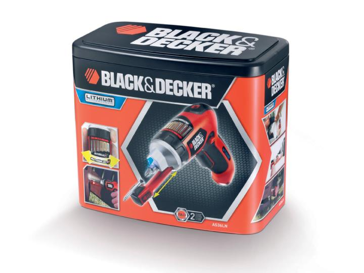 Black & Decker 3.6 V LITHIUM Cordless Screwdriver AS36LN (New)