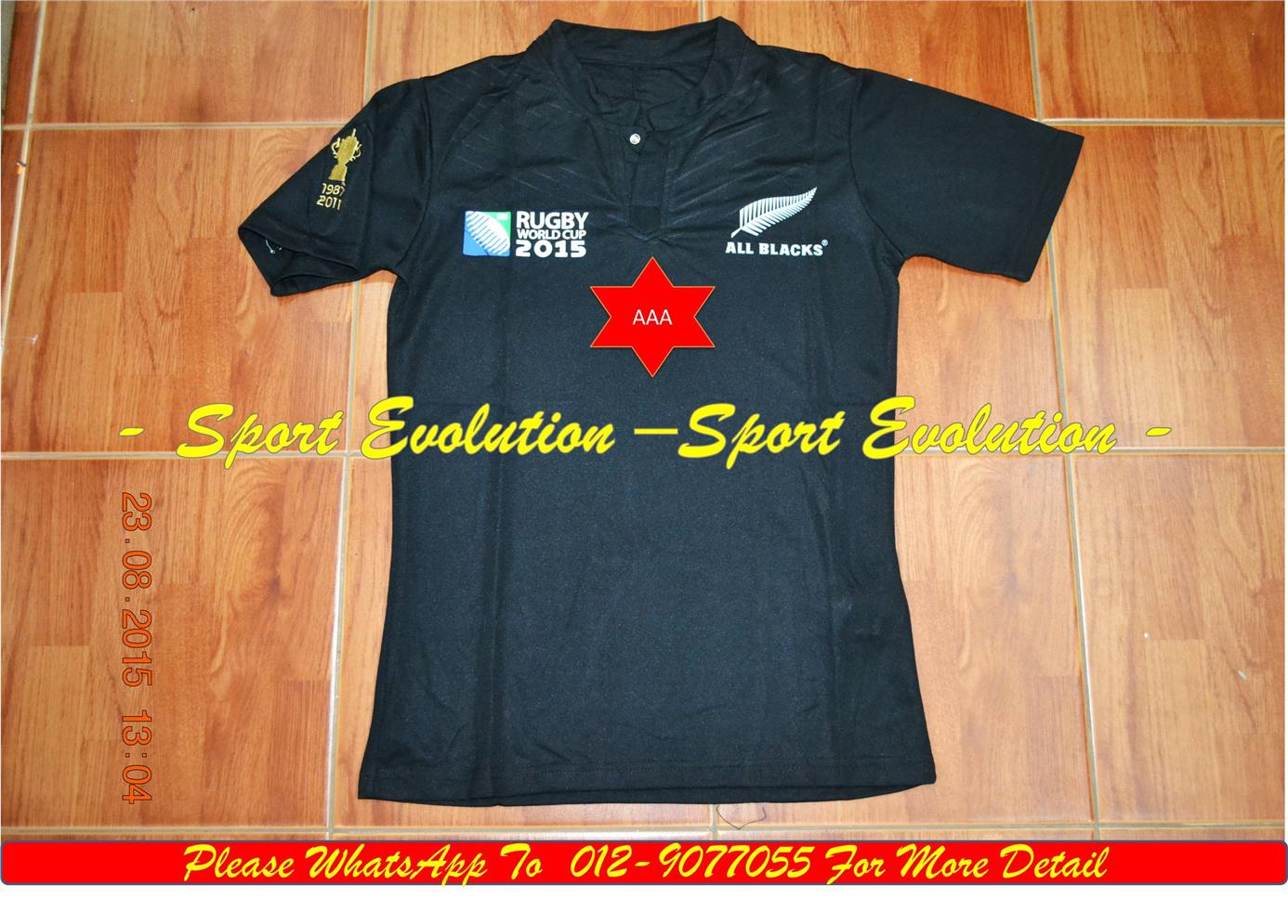 All Black Jersey (Team Order) Black
