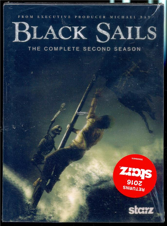 Black Sails - The Complete Second Season - New DVD