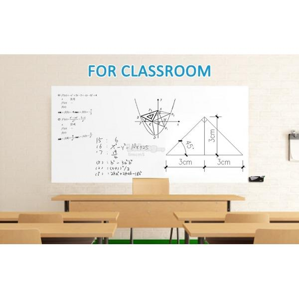 BLACK / WHITEBOARD STICKER 45*200CM