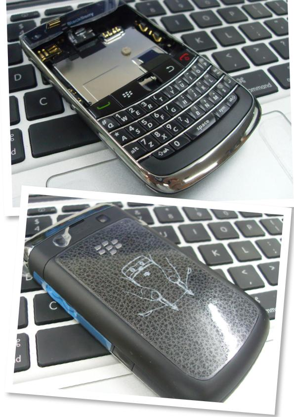 blackberry bold 2 9700 AP ori housing