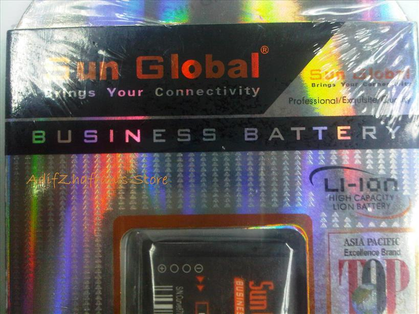 BLACKBERRY BOLD 9000 9700 9780 SUN GLOBAL HIGH CAPACITY BATTERY 1850mA..