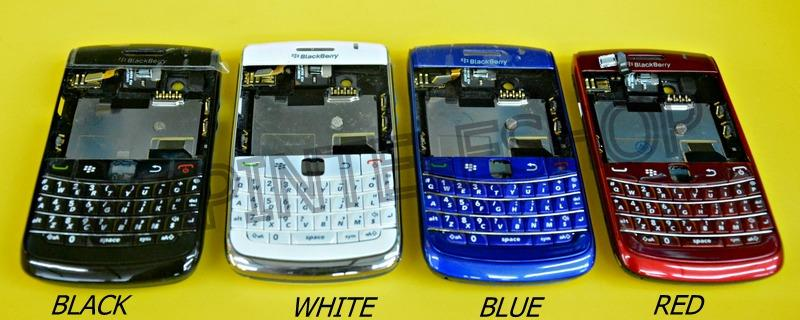 BlackBerry Bold 9700 9780 Housing Keypad Middle board Battery Cover