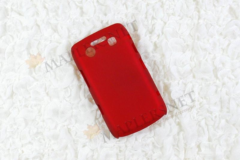 Blackberry Bold 9700 9780 Slim Hard Shell Case Casing [Red]