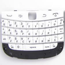 BLACKBERRY BOLD4 9900 100% WHITE ORIGINAL KEYPAD
