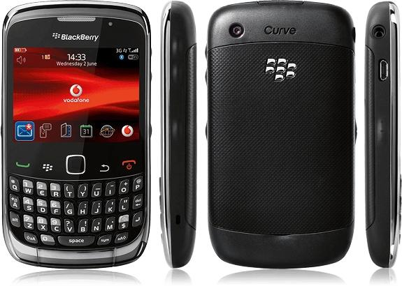 BlackBerry Curve 3G 9300 BLACK OR WHITE 100% BRAND NEW NOT RECOND
