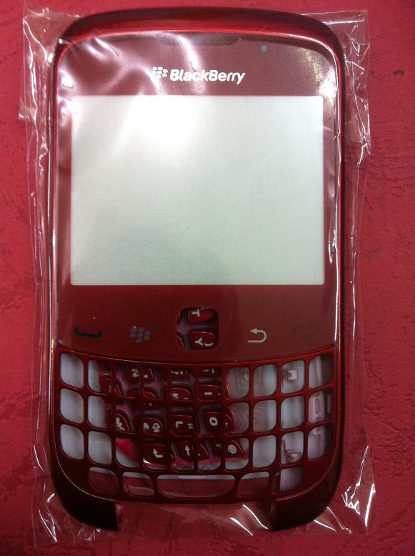 BLACKBERRY CURVE 3G 9300 RED HOUSING