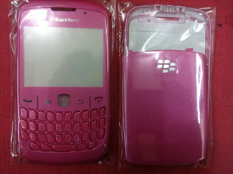 BLACKBERRY CURVE 8520 LIGHT PINK HOUSING
