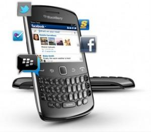 Blackberry Curve 9360-New Set 24 Months Warranty-FOC Gifts