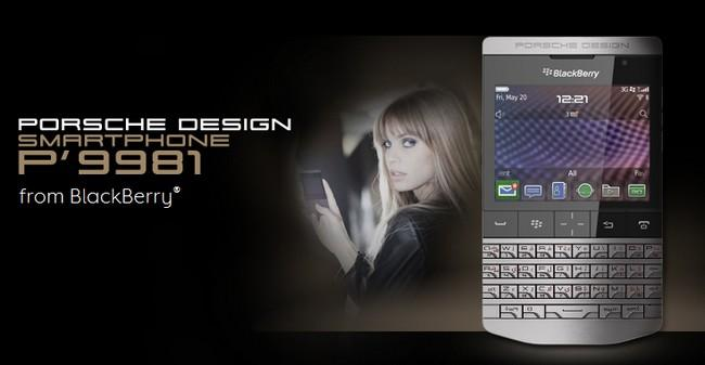 BlackBerry Porsche Design P'9981-ORIGINAL SET BRIGHTPOINT 2 YEARS WARR..