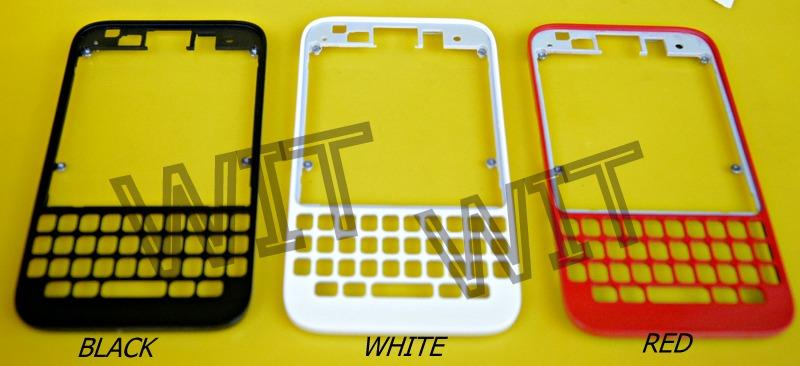 BlackBerry Q5 Bezel Front  Housing Cover board Sparepart Services