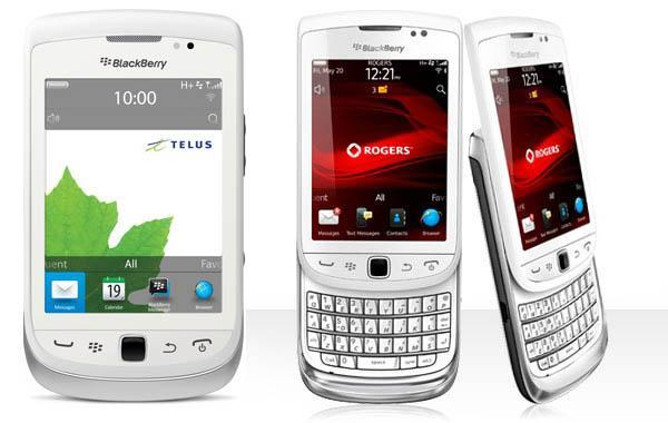 BlackBerry TORCH 2 9810  -Come with leather case screen pro torch II