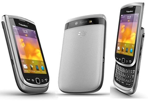 BLACKBERRY TORCH 9810 SILVER/WHITE ORIGINAL BRIGHTSTART / BRIGHTPOINT
