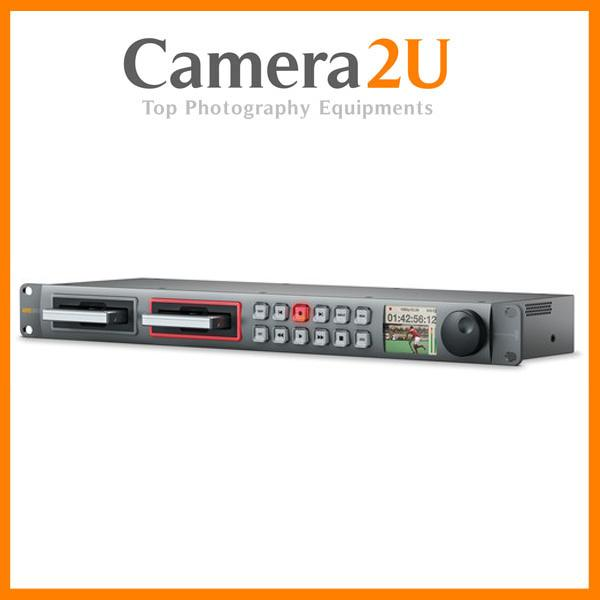New Blackmagic Design HyperDeck Studio 12G