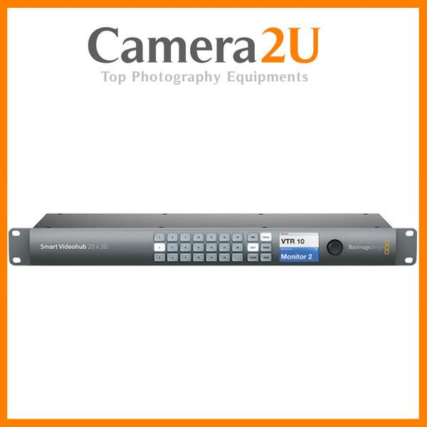 New Blackmagic Design Smart Videohub 20 x 20 6G-SDI