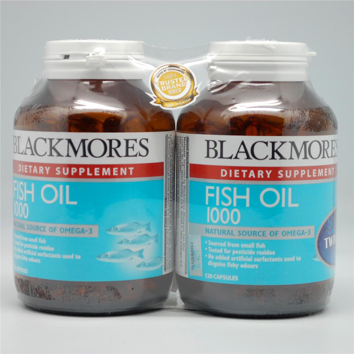 Blackmores fish oil 1000mg 120 end 5 8 2017 1 15 pm myt for Fish oil 1000mg