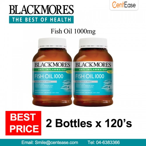 Blackmores fish oil 1000mg anti infla end 4 1 2019 5 10 pm for Fish oil for inflammation