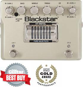 BLACKSTAR HT Metal - Guitar Distortion Pedal (FREE Tuner & Cable)