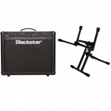 Blackstar ID 60 Guitar Amplifier with Tiltback Amplifier Stand Package
