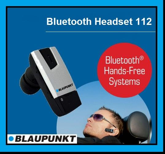 BLAUPUNKT BT In-Ear Headset 112 Bluetooth Handsfree Pairing