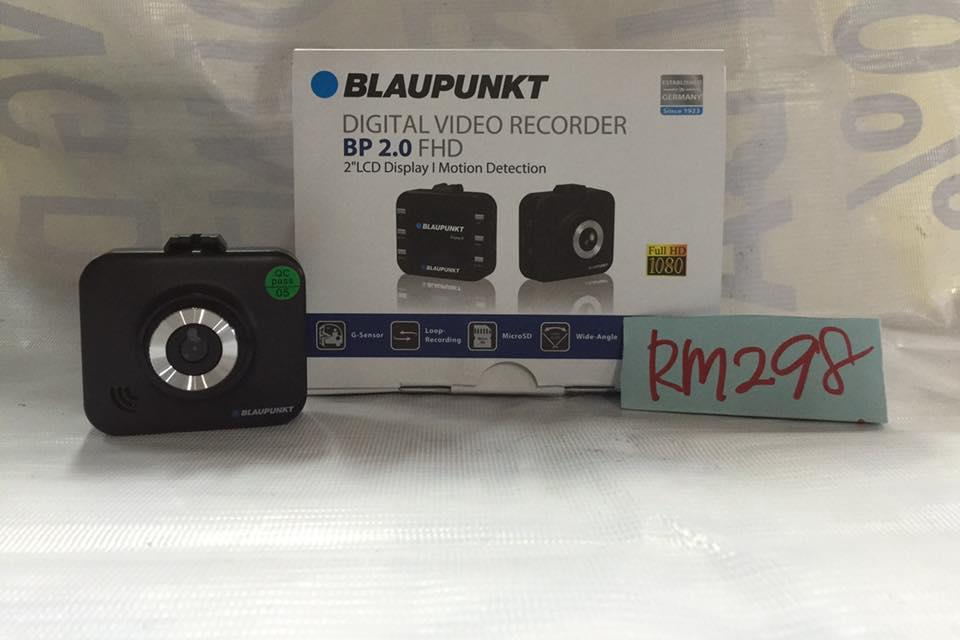 BLAUPUNKT DVR BP2.0 DIGITAL VIDEO RECORDER Cam Recorder + 8GB Micro SD