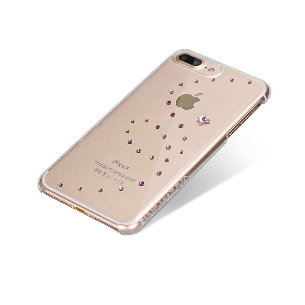 Bling My Thing Papillon Rose Sparkles Case for Apple iPhone 7 Plus