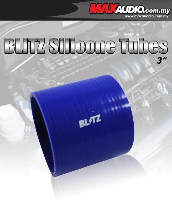 BLITZ 2.25' Inch 3 Layer Racing Silicone Straight Coupler Hose Tubes