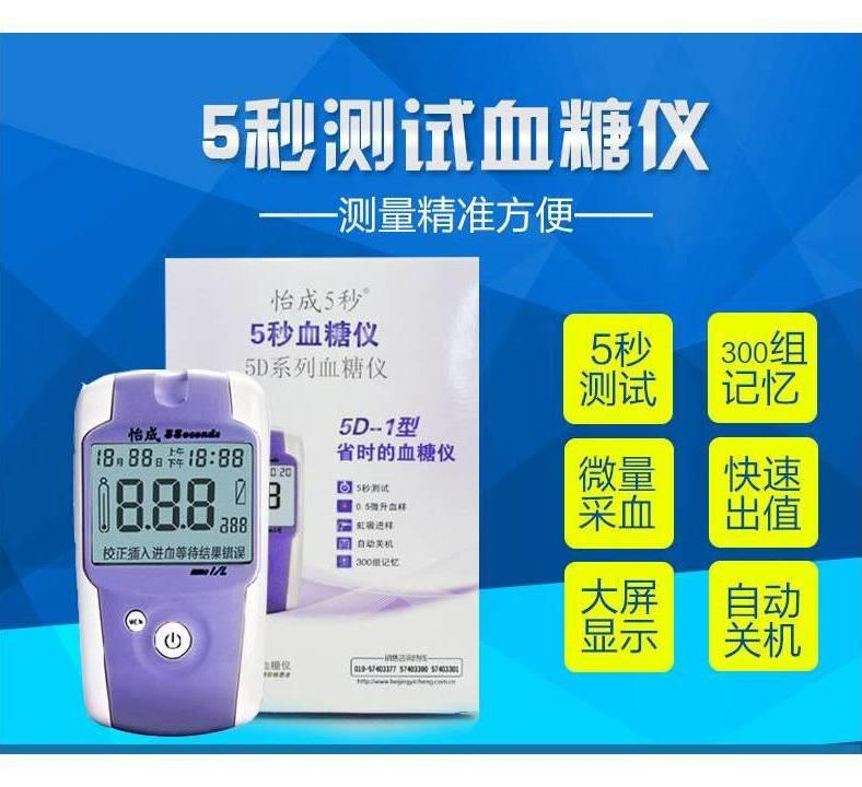 Blood glucose meter medical home