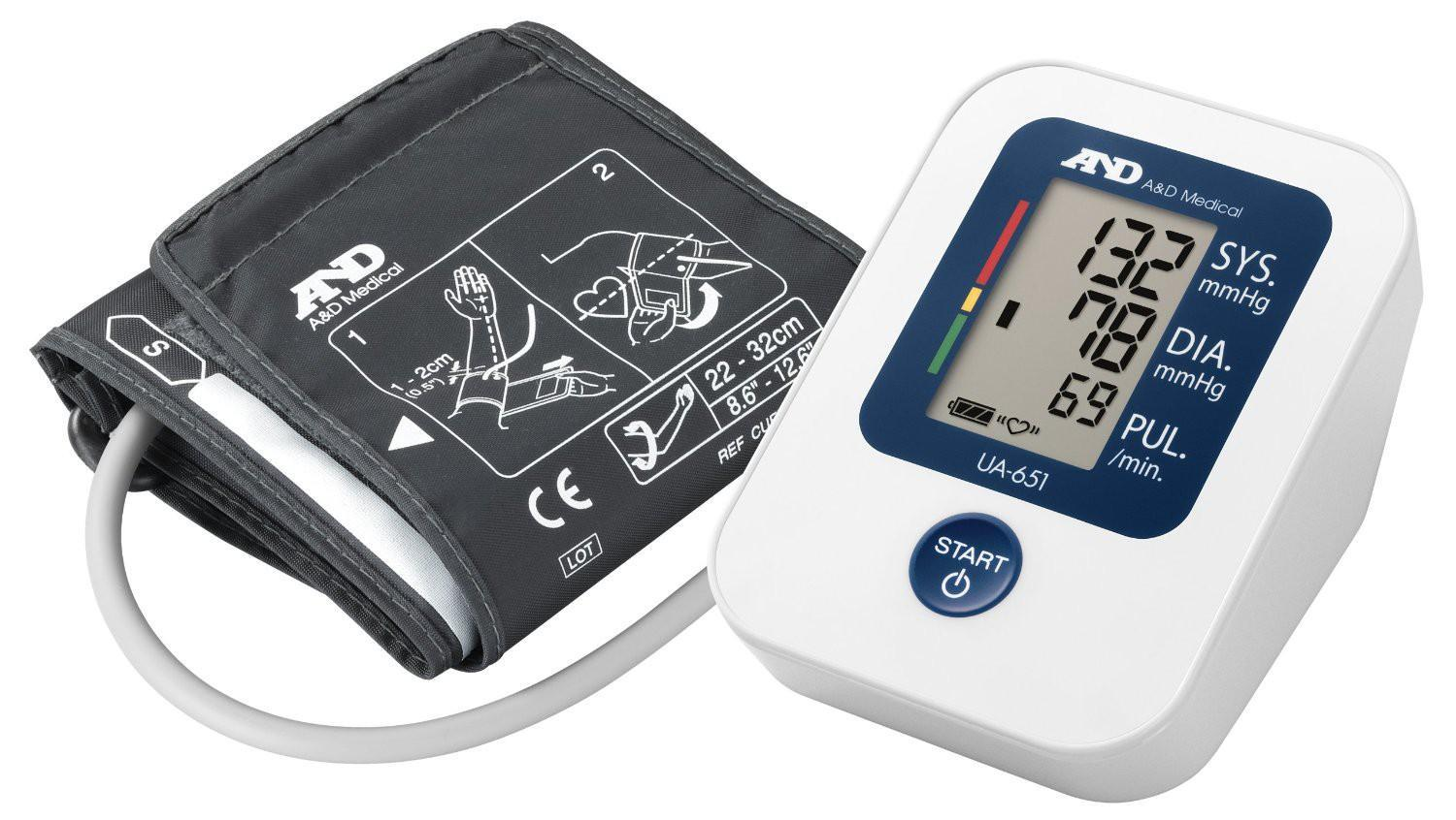 AND Blood Pressure Monitor UA-651 *2 Years Warranty* Japan Technology