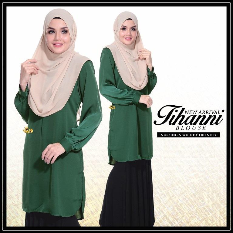 NEW Blouse Muslimah Tihanni Glory