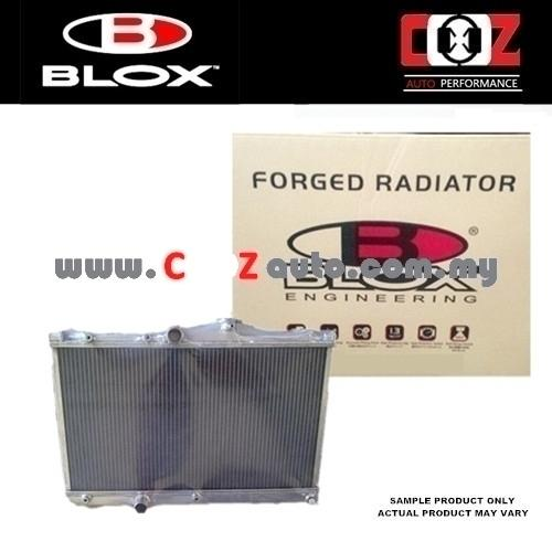 Blox Double Layer Aluminium Radiator Mitsubishi Lancer EVO 7/8/9 (AT)