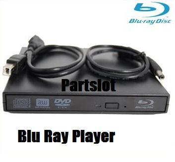 Blu-ray Combo Player USB External Slim DVDRW Drive NEW
