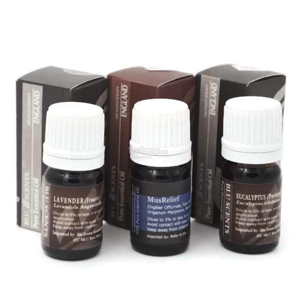 Blu Scents Muscle Soother Remedies