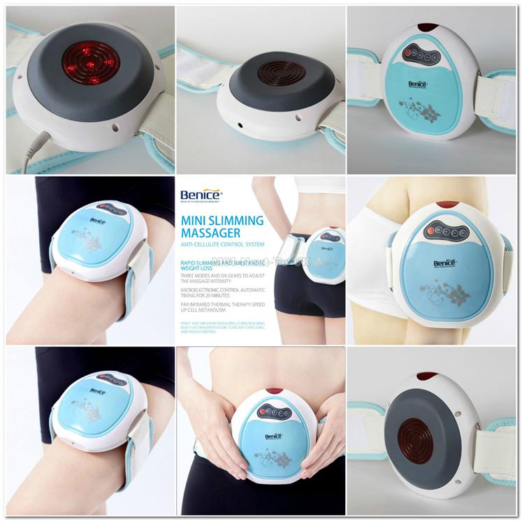 BLUE Benice Infrared Heating Thermal Slimming Massager Big Belly Anti