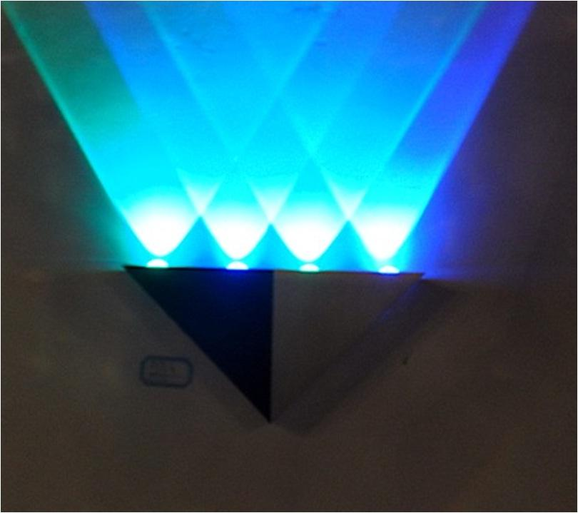 Wall Decoration With Led Lights : Blue quality indoor home decoration led end