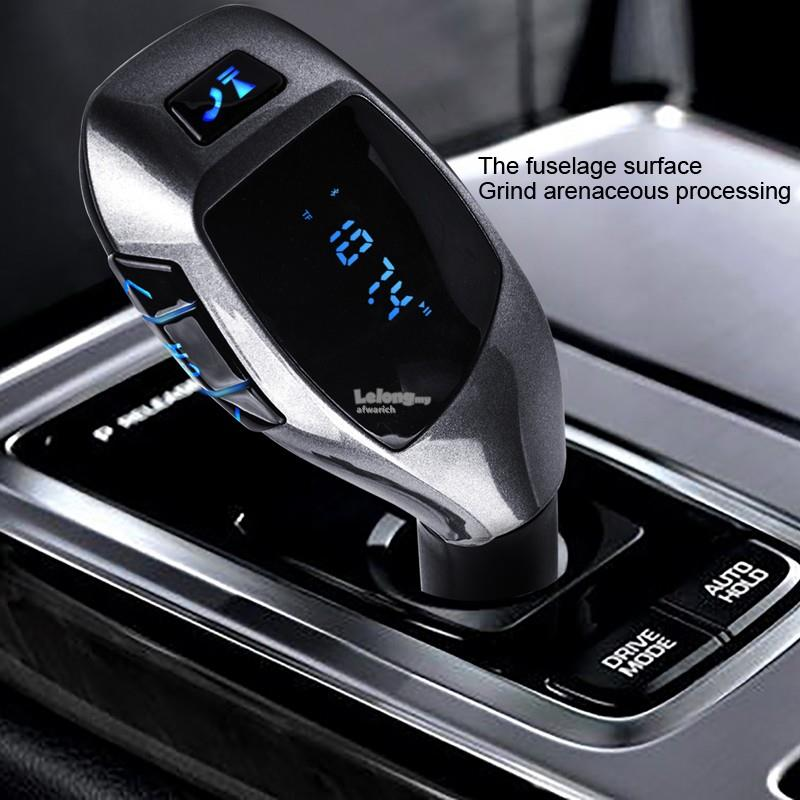 Bluetooth Car Kit Wireless Fm Transmitter Radio Adapter FM Modulator