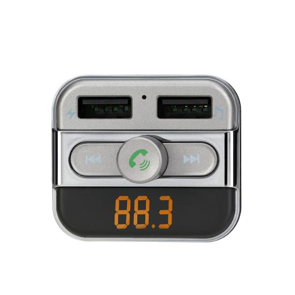 Bluetooth FM Transmitter Handsfree Phone Calling Car Kit MP3 Player