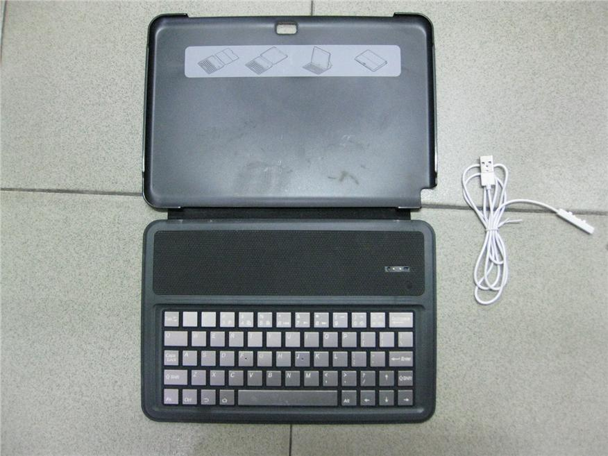 Bluetooth Keyboard with Protective Shell for Galaxy Note 10.1