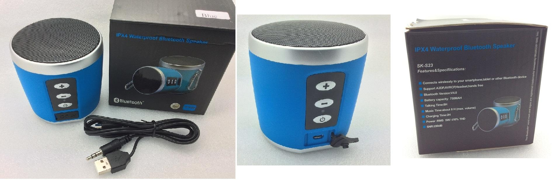 Bluetooth Speaker-Waterproof(c)