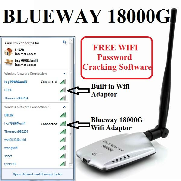 BLUEWAY 18000G Wireless USB WIFI Adaptor vs ALFA / SIGNALKING /Comfast