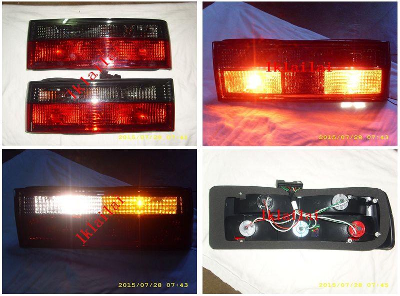 BMW 3 Series E30 `83 Tail Lamp Crystal Red Smoke Lens