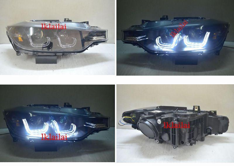 BMW 3 Series F30 '12 U-Style Projector Head Lamp DRL Price Per Pair