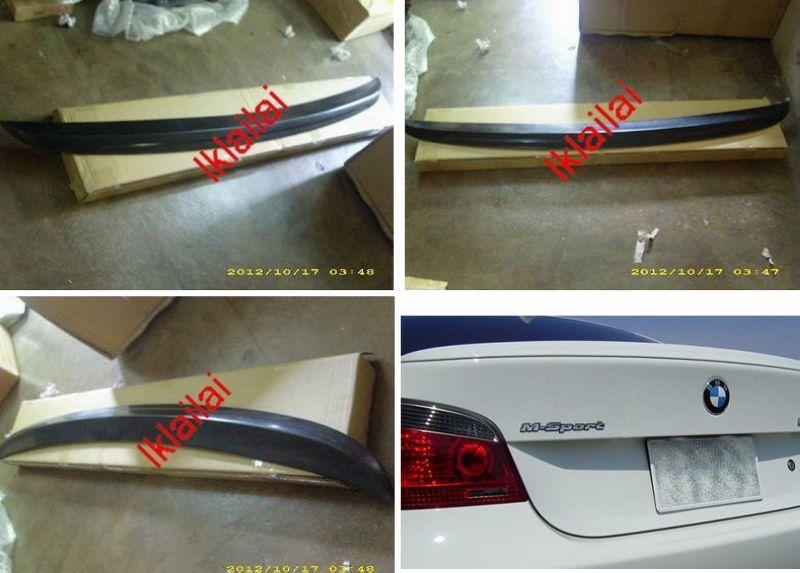 BMW 5 Series E60 `03-09 Rear Trunk Spoiler M5 Style [Fiber Material]