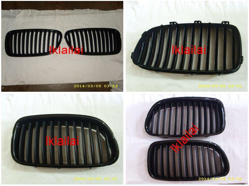BMW 5 Series F10 '10 Front Grille All Black [F10-FG01-U]