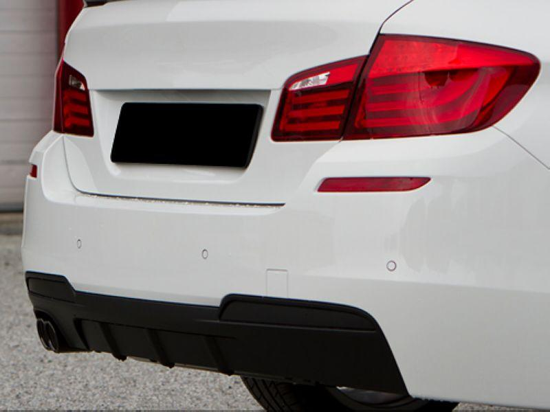 BMW 5 Series F10 '10 M-TEK/M5 Rear Bumper Diffuser Performance Look PP