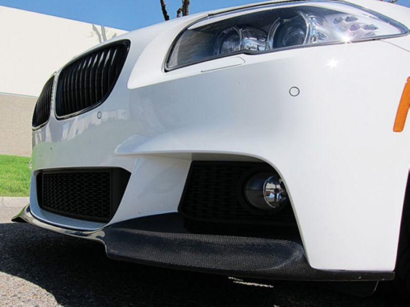 BMW 5 Series F10 '10 M-TEK V Type Carbon Front Lip