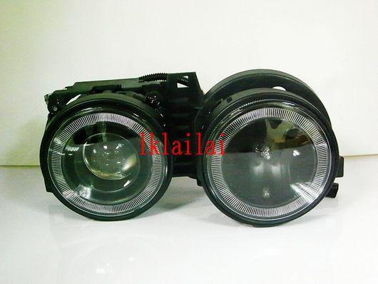 BMW E30 '83-87 BLACK Projector Head Lamp LED